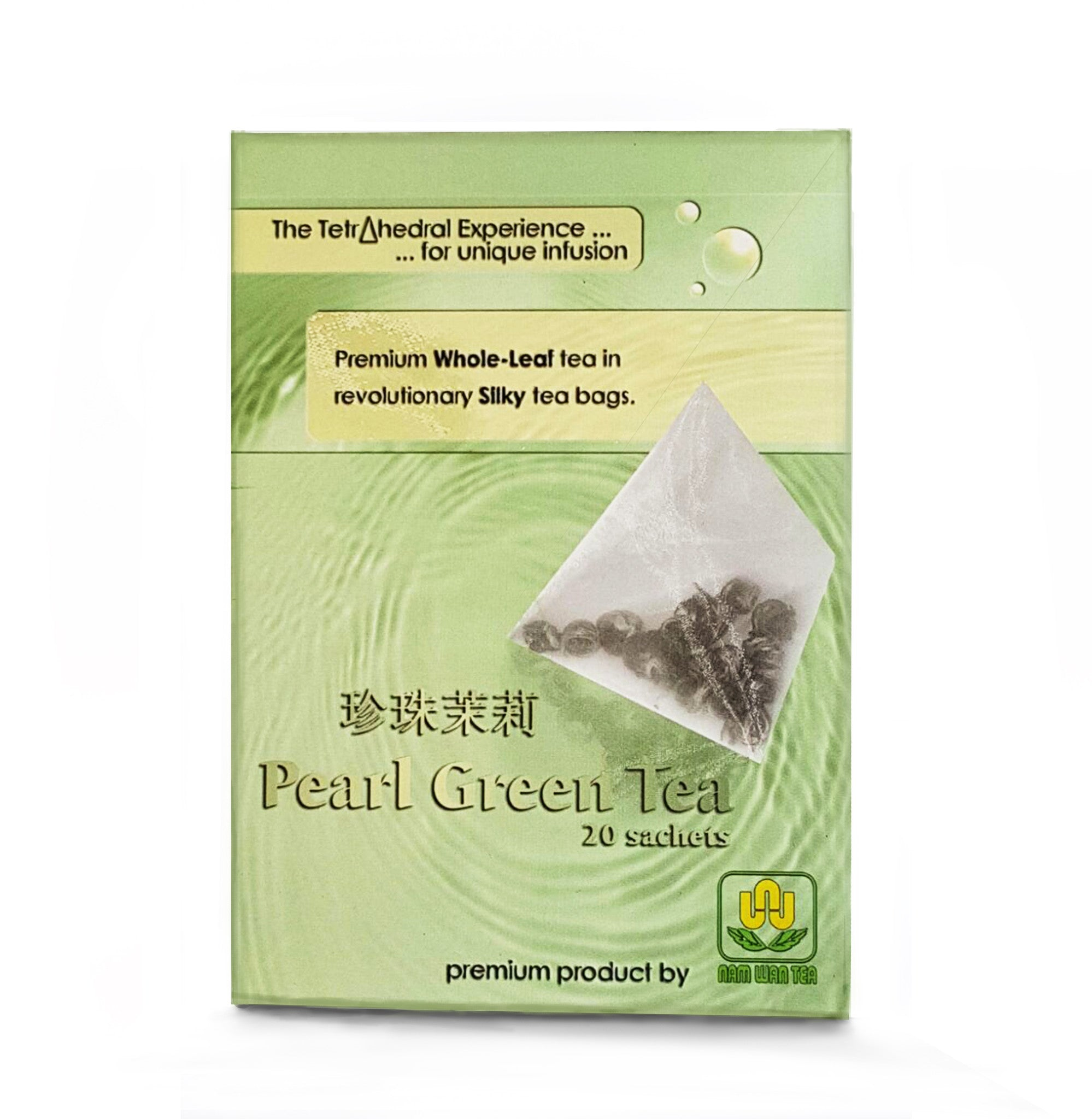 Pearl Green Tea Teabag (珍珠茉莉)