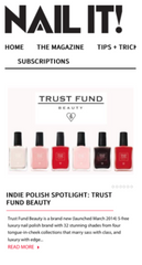 Trust Fund Beauty Nail it! Post