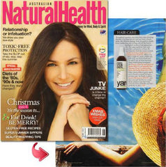Yarok Feed Your Ends NaturalHealth Magazine Cover