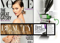 Yarok Feed Your Hold Hairspray in Vogue Magazine