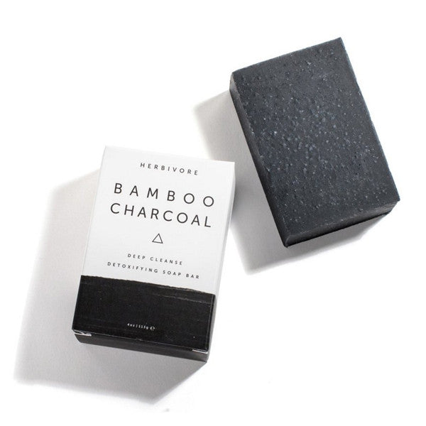 Herbivore Botanical Bamboo Charcoal Soap