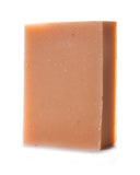 Herbivore Botanicals Pink Clay Cleansing Bar Soap open bar