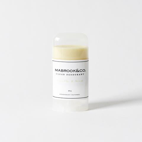Mabrook & Co Vanilla and Mint Deodorant stick