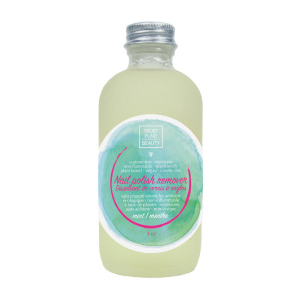 Trust Fund Beauty Mint Nail Polish Remover