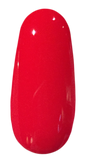 Swatch of Trust Fund Beauty red with a hint of orange 5-Free Nail polish in Gossip Mag