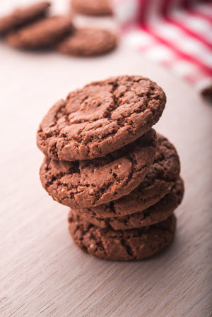 Gluten Free Chocolate Walnut Cookies