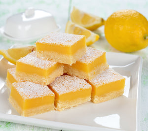 Ingrid's Nearly Famous Gluten Free Lemon Bars