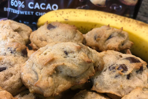 Ingrid's Gluten Free Chocolate Covered Banana Cookies