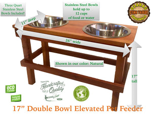 What makes an OFTO Elevated Pet Feeder Better