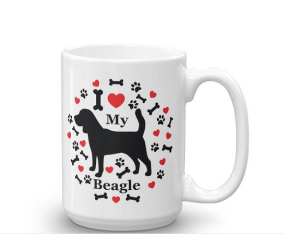I love my pet 15oz mugs