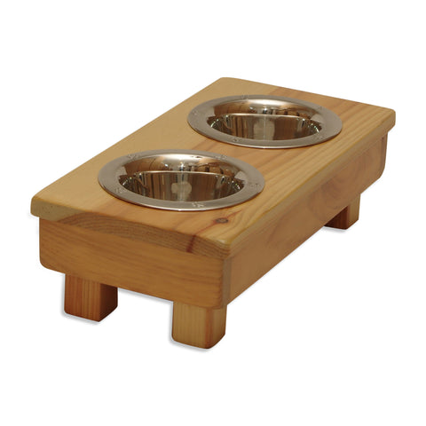 "'TOY' Size (5"" tall) Raised Dog Bowls"