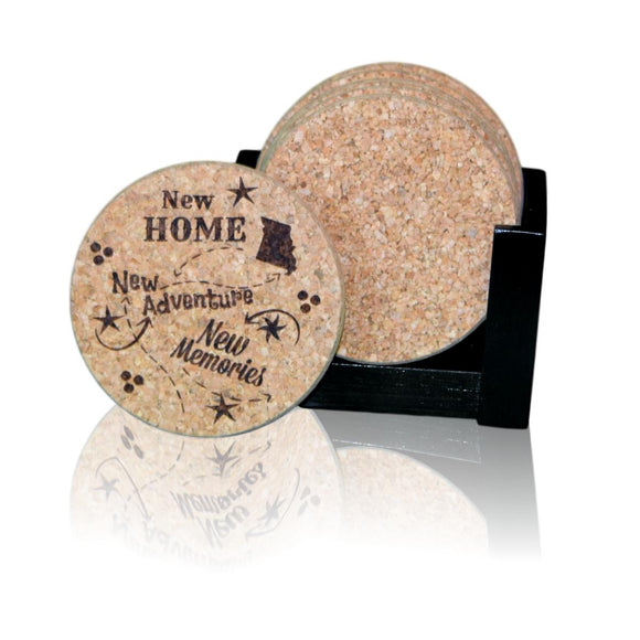 Welcome Home Coaster Sets! The perfect housewarming or realtor gift!