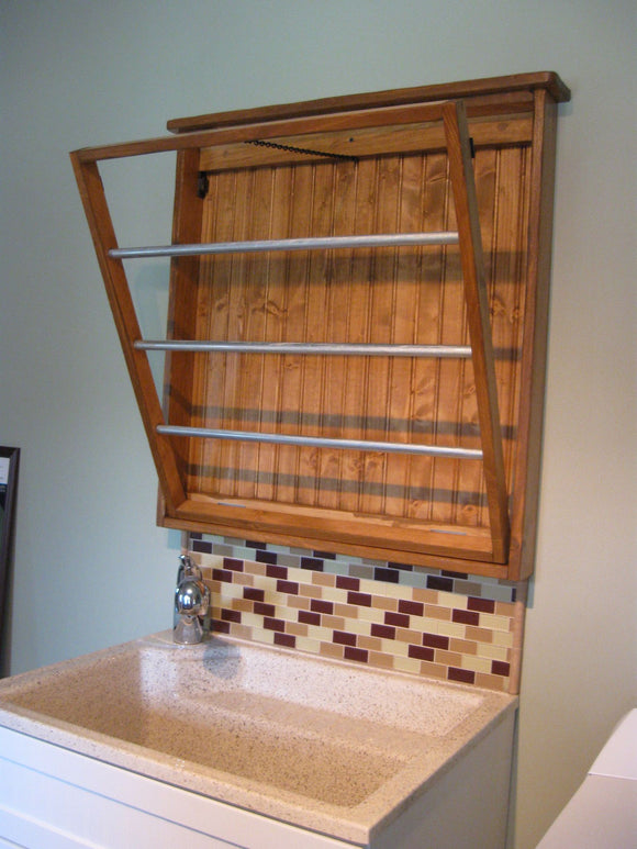 Custom Laundry Drying Rack- Solid Wood!