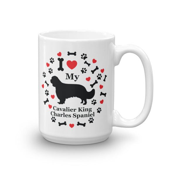 I love my Cavalier King Charles Spaniel 15oz Coffee Mug