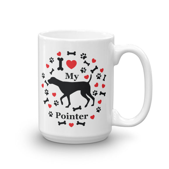 I love my Pointer 15oz Coffee Mug