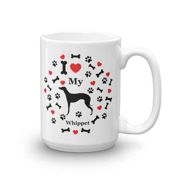 I love my Whippet 15oz Coffee Mug