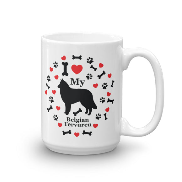 I love my Belgian Turvuren 15oz Coffee Mug