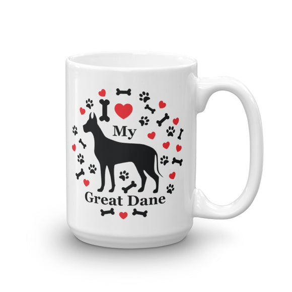 I love my Great Dane 15oz Coffee Mug