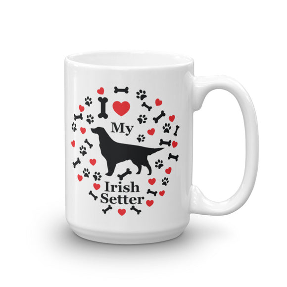 I love my Irish Setter 15oz Coffee Mug