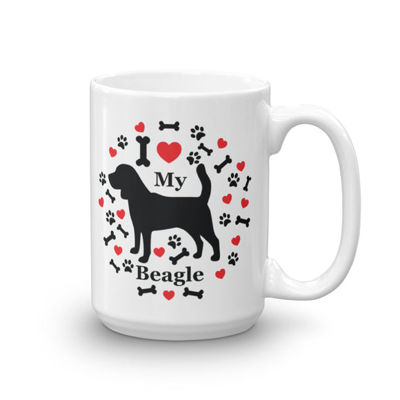 I love my Beagle 15oz Coffee Mug