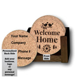 Premium Home Coaster Set with personalization options!