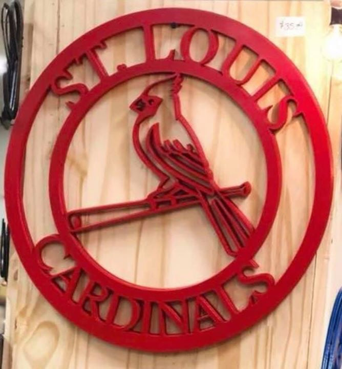 St. Louis Cardinals Door Hanger