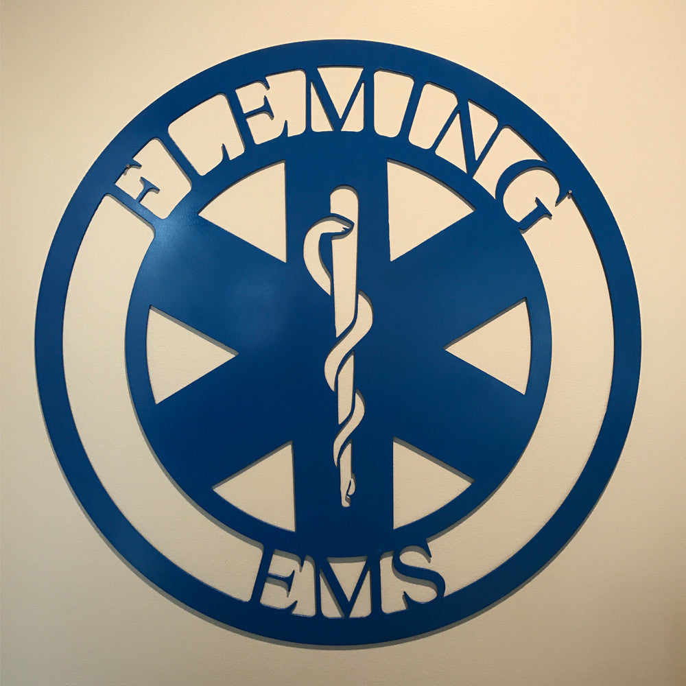 Custom EMS Wall Hanger