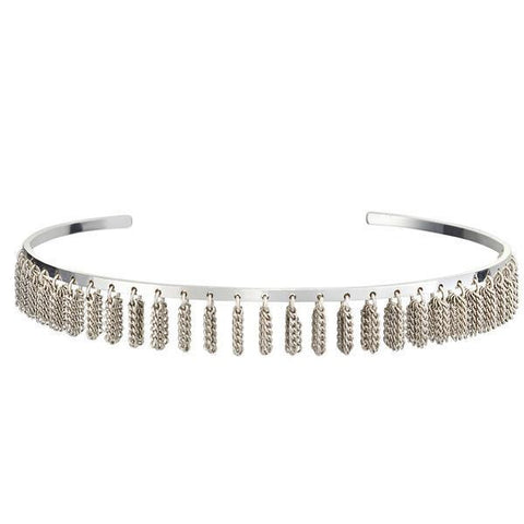 Jenny Bird Collins Ave. Choker in Silver