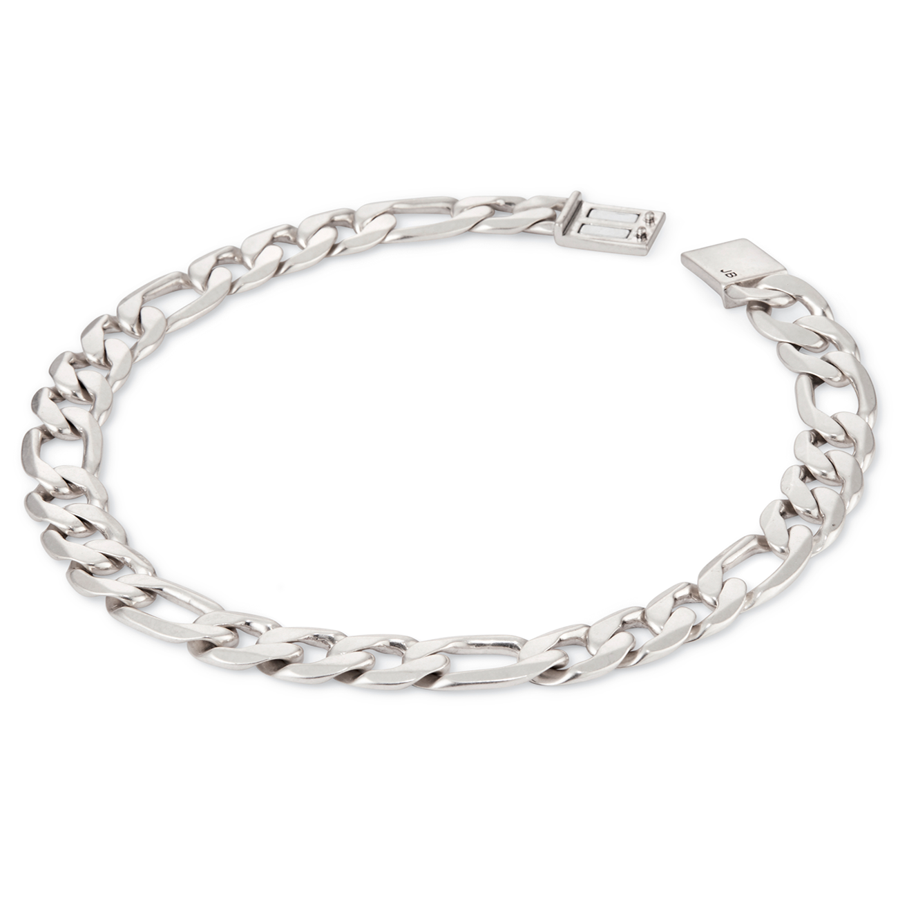 Silver link Carter Choker chain necklace by JENNY BIRD