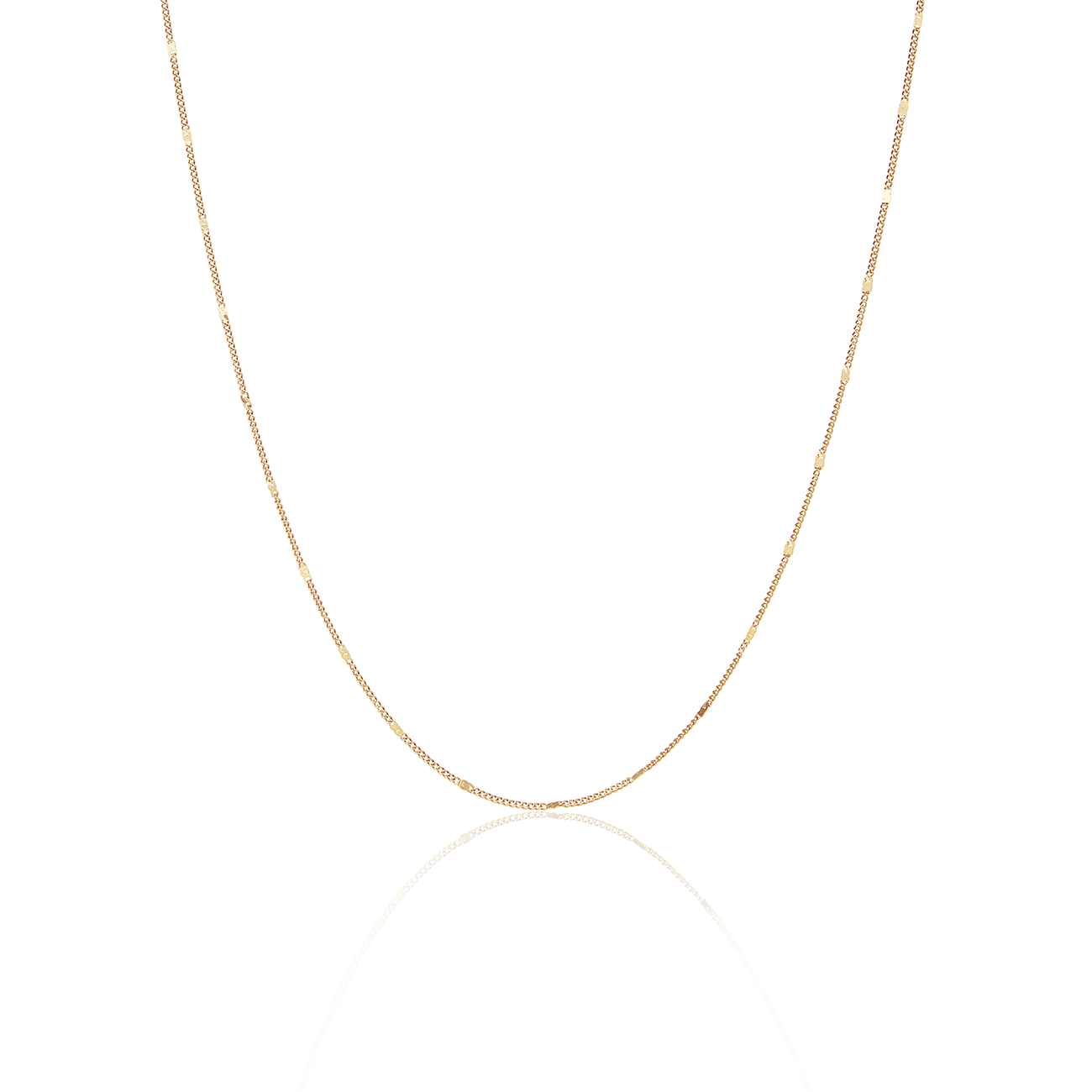Malia Stamped Chain Necklace