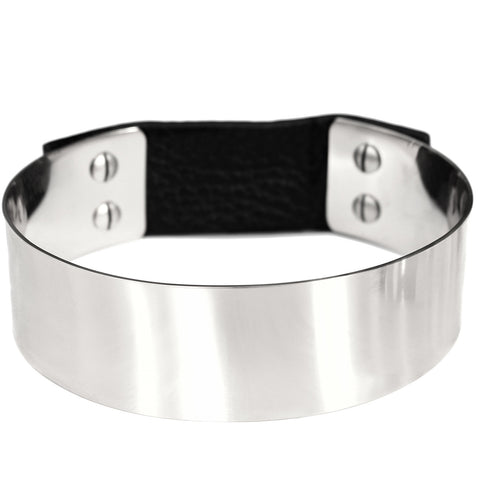 THE Choker by Jenny Bird in High Polish Silver