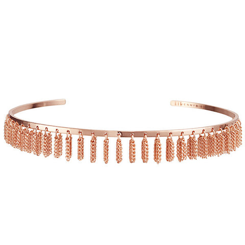 Jenny Bird Collins Ave. Choker in Rose Gold