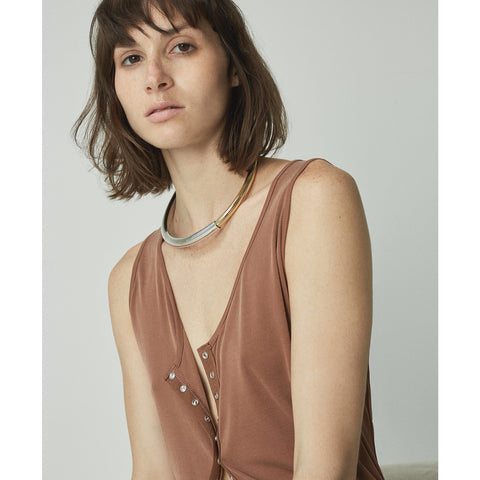 The Large Lola Collar by Jenny Bird in Two-Tone