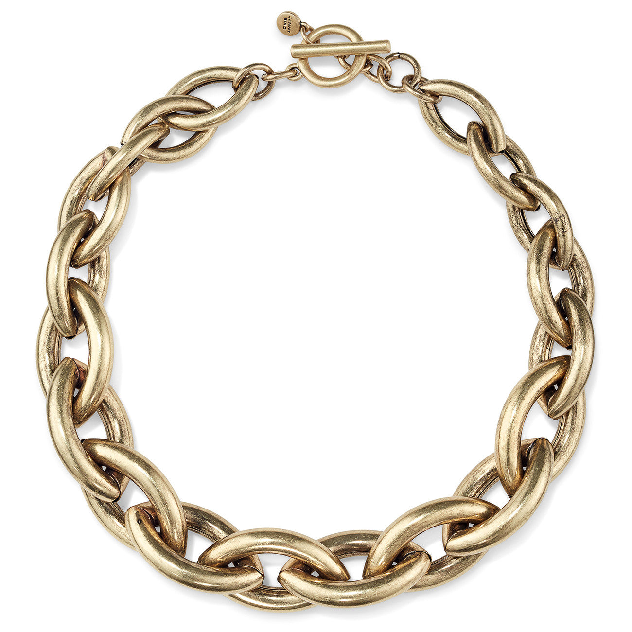 Sloane Collar by Jenny Bird in Oxidized Gold