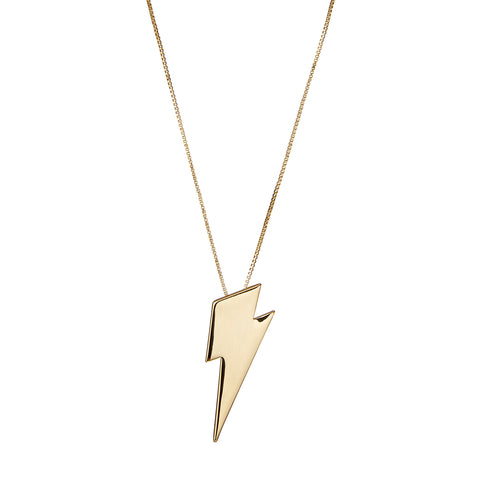 The Thunderstruck Pendant by Jenny Bird in High Polish Gold