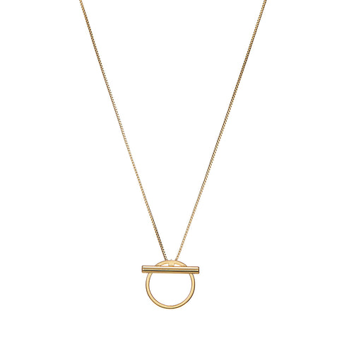 Rhye Pendant by Jenny Bird in Gold