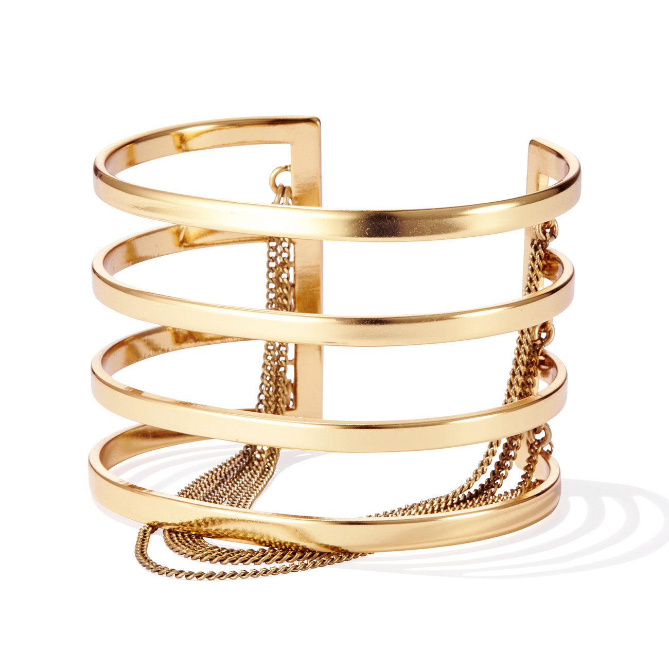 Series Cuff by Jenny Bird in High Polish Gold