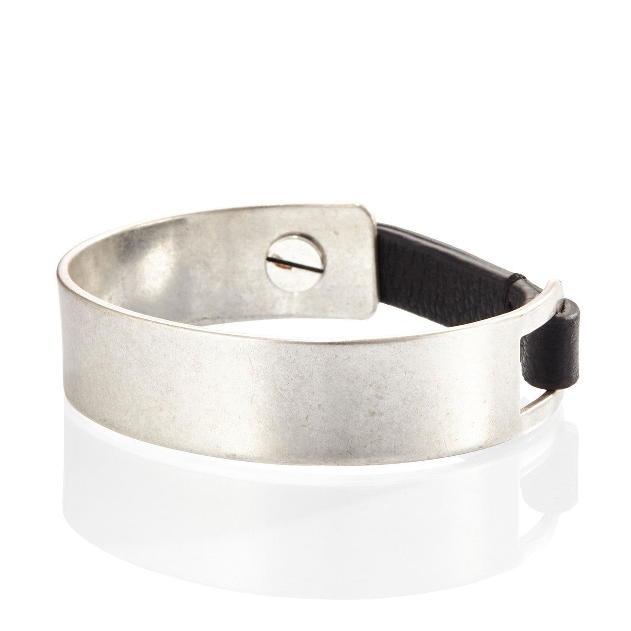 The Jane Cuff by Jenny Bird in Silver Ox