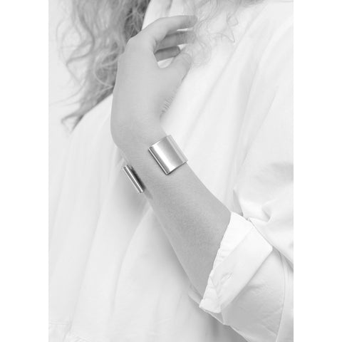 The Eli Cuff by Jenny Bird in Antique Silver