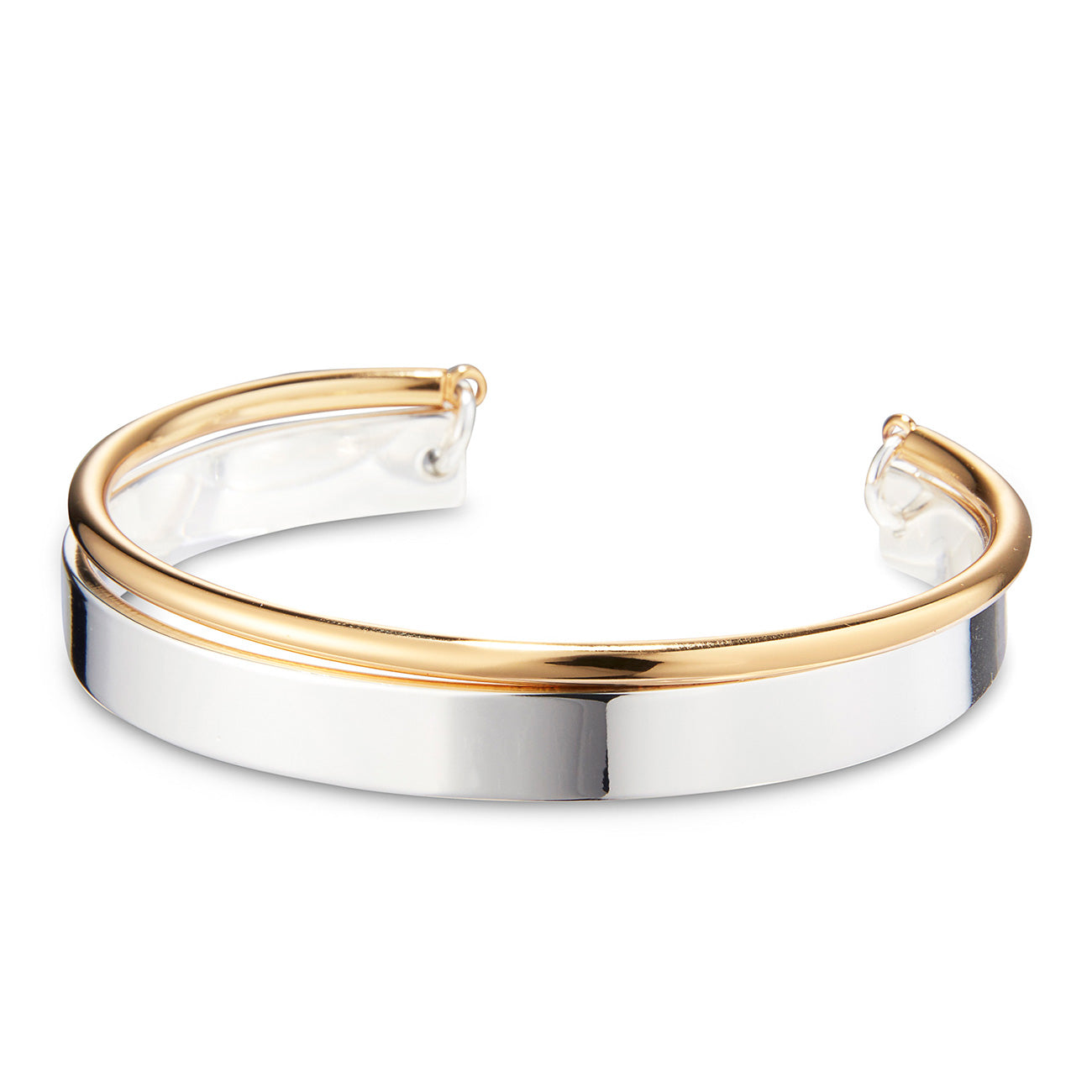 Uma Cuff by Jenny Bird in Two-Tone
