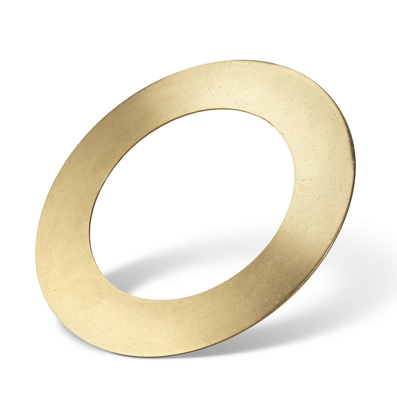 Carmine Cuff - Medium by Jenny Bird in Brass