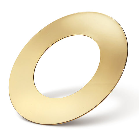Carmine Cuff - Large by Jenny Bird in Gold