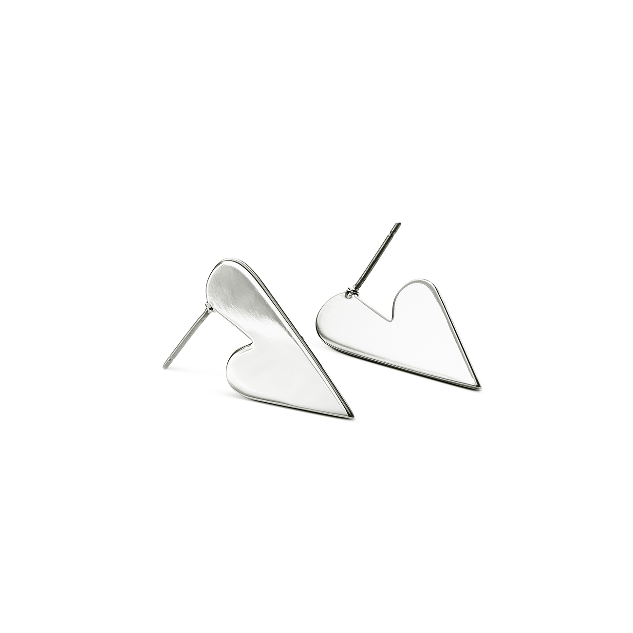 Lovestruck Earrings by Jenny Bird in Silver