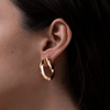 Toni Hinged Hoop Earrings
