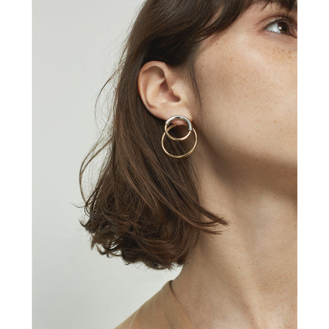 Ossie Ear Jackets by Jenny Bird in Two-Tone