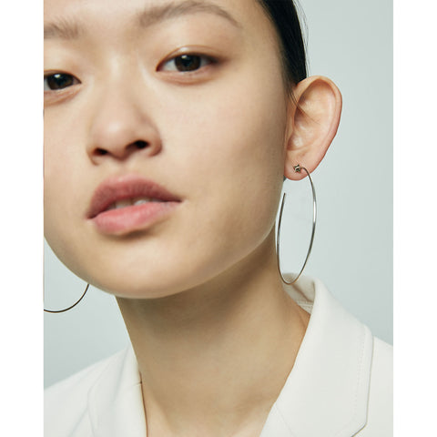 The Starlet Hoops by Jenny Bird in Two-Tone