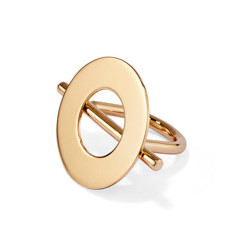 Rhye Ring by Jenny Bird in Gold