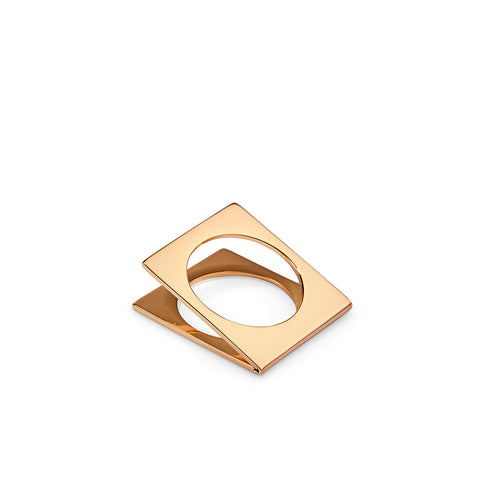 ForTheLove Ring by Jenny Bird in Gold
