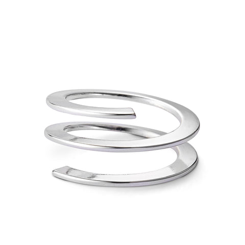 Revolve Ring by Jenny Bird in Silver