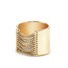 Gold tall Chloe chain Ring by Jenny Bird